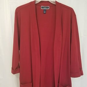PLUS Red cardigan, New-no tag